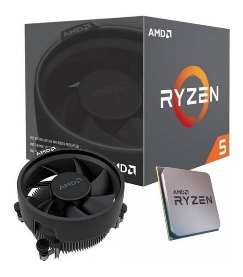 Processador Amd Ryzen 5 3400g. 3.7 Ghz / Am4 / Rx Vega 11.