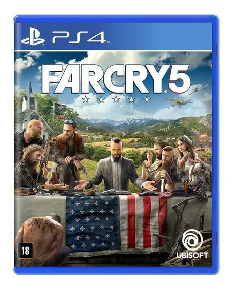 Far Cry 5 - Ps4 - Novo - Midia Fisica - Lacrado - Pt Br