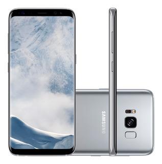Samsung Galaxy S8 G950 Prata, Leitor De Íris, 64gb (vitrine)