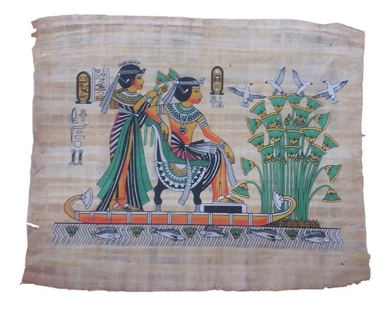 Papiro Egípcio Egito Antigo Frete Grátis Pronta Entrega