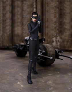 En Stock! Set Catwoman - Batman Tdkr - Tipo Hot Toys