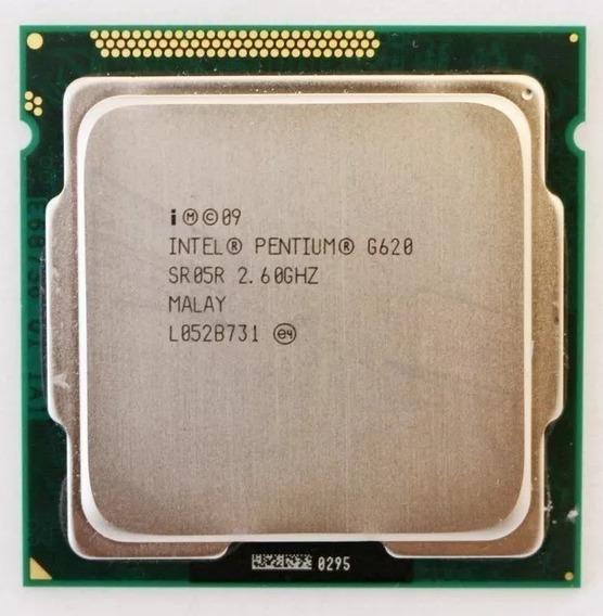 Processador Intel Pentium G620 2.60ghz Socket 1155