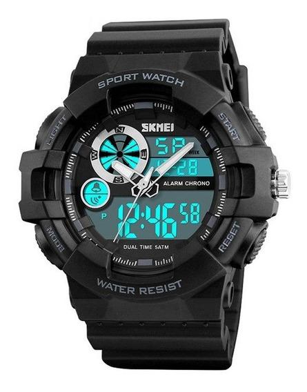 Relógio Masculino Esportivo Original Skmei 1312 Prova D