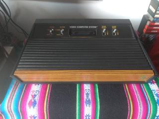 Atari 2600 Completo 1 Mando Y Juegos
