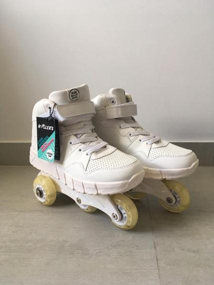 Nuevas Zapatillas Ruedas Desmontables Y Luces Para Adultos