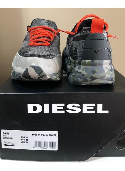 Tênis Diesel Camo Army S-kby Sneakers Tam 43 - De R$1200 Por