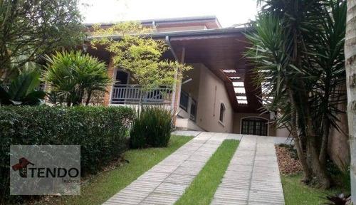 Imagem 1 de 15 de Imob03 - Casa 350 M² - Venda - 3 Dormitórios - 1 Suíte - Represa - Ribeirão Pires/sp - Ca0830