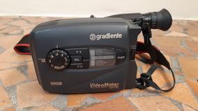 Filmadora Gradiente Vhs C Gcp 155c Pra Retirada De Peças