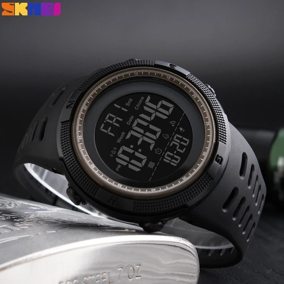 Relógio Masculino À Prova Dágua Cronometro Contagem Regressi