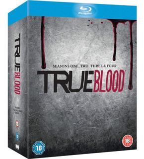 True Blood - Temporada 1-4 Completa [blu-ray] Lacrado Import