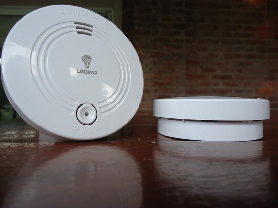 Alarma Detector De Humo Inalámbrico, Autónomo Premium Pilar