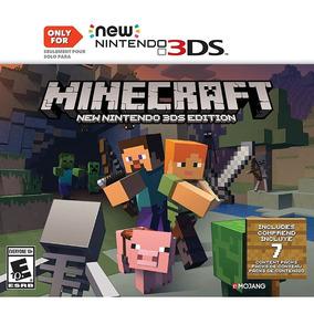 Minecraft New Nintendo 3ds Edition