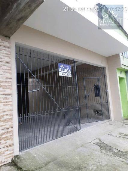 Casa Com 1 Dormitório Para Alugar, 70 M² Por R$ 850,00/mês - Jardim São José - Poá/sp - Ca0165