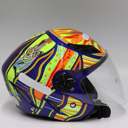 Capacete Agv Blade Five Continents Azul S2r S2r Oficial