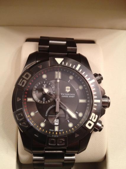 Swiss Army 241424 Dive Master 500 Chrono Dial Negro - Nuevo