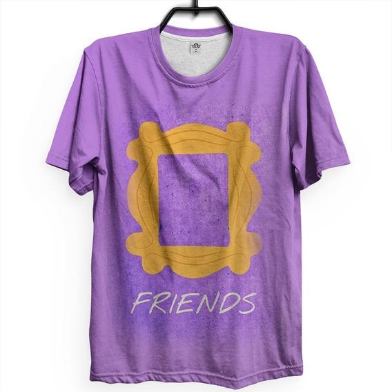 Camiseta Friends Temporada Ross Chandler Joe Monica Phoebe