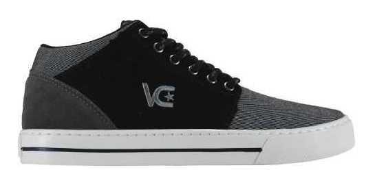 Tênis Cano Alto Black Free Vanscy Grafite - V412
