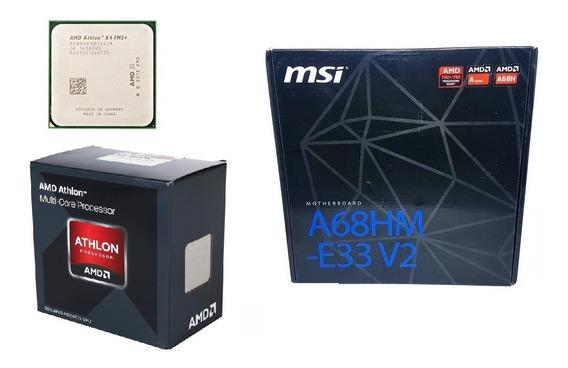 Kit X4 860k + Msi A68hm-e33 - (r$460 Sem Frete Na Descrição)
