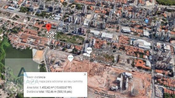 Terreno À Venda, 1455 M² Por R$ 3.000.000 - Papicu - Fortaleza/ce - Te0035