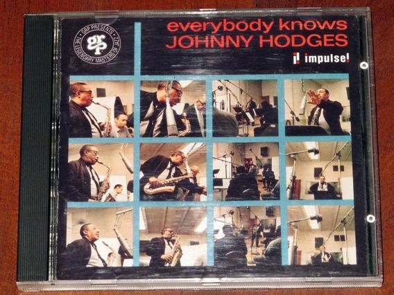Johnny Hodges Everybody Knows Cd Importado