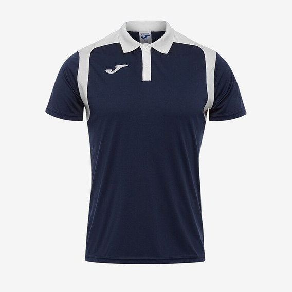 Playera Polo Joma Champion Marino-blanco