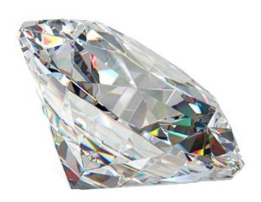 Diamante Natural De Mina .03ct 2mm Suelto Redondo Gh Vs