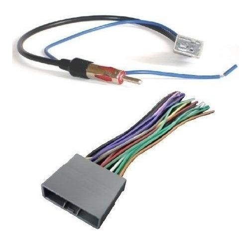 Plugs De Som E Antena New Civic / Crv Chicote Kit Adaptador