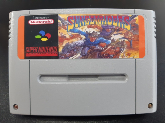 Cartucho De Super Nintendo Sunset Riders