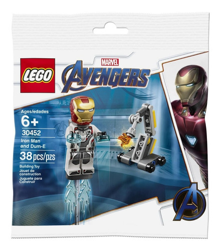 Lego Avengers 30452 Iron Man Y Dumb E 38 Piezas Marvel