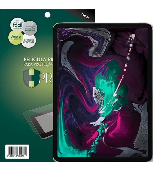 Película Hprime Apple iPad Pro 11 2018 - Invisivel Ou Fosca