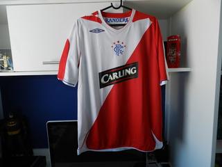 Camisa Glasgow Rangers 2006-2007 Original