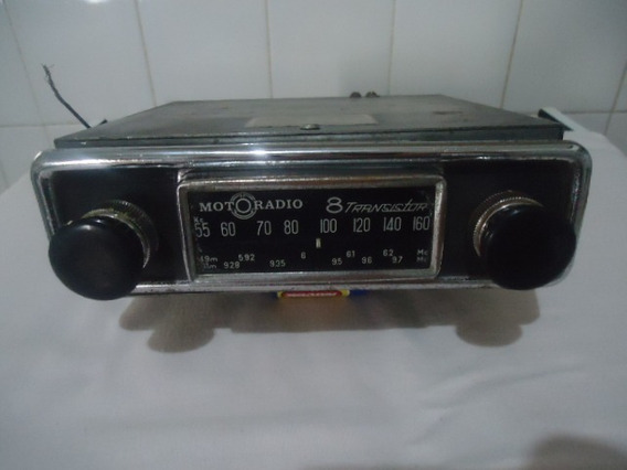Ant. Rádio Motorádio 8 Transistor - Func. - Frete Grátis