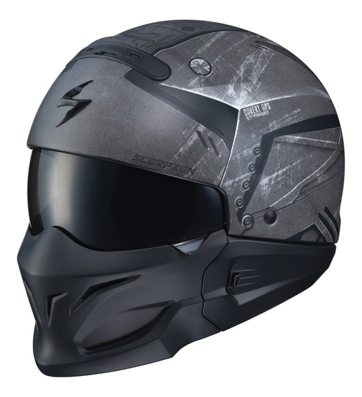Casco Scorpion Exo Covert Incursion Phantom Gris