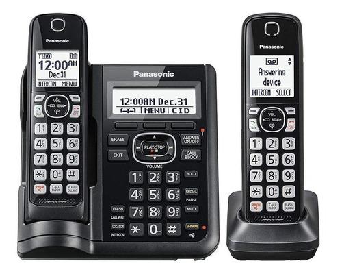 Imagen 1 de 2 de Teléfono inalámbrico Panasonic KX-TGF572 negro