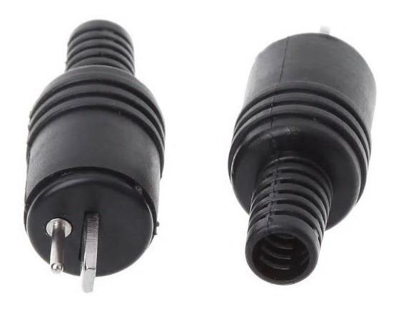 Conector Plug Paf Din 2 Pinos Macho Philips Marantz Outros