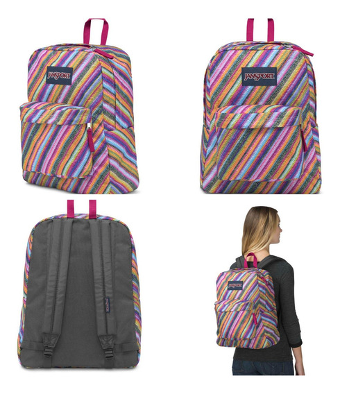 Mochila Jansport Superbreak 100% Original 25lts Js00t5010jw
