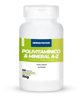 Multivitamínico De A-z Newnutrition 120 Tabs Pronta Entrega!
