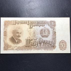 Cédula Bulgária 50 Leva Ano 1951 Fe
