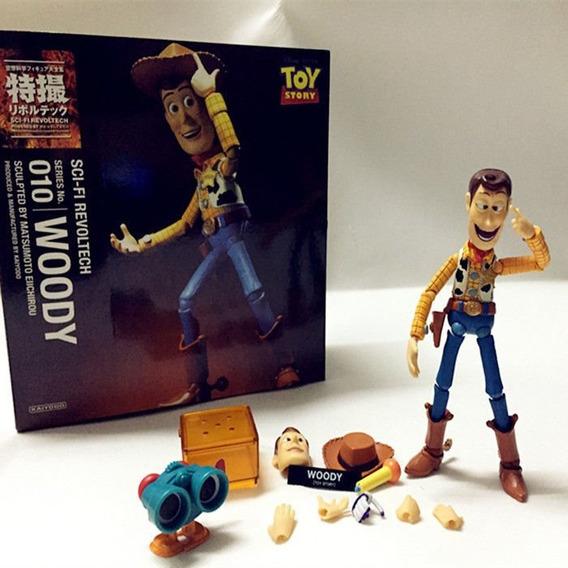 Toy Story 4 Boneco Woody Revoltech Sci 16 Cm Novidade