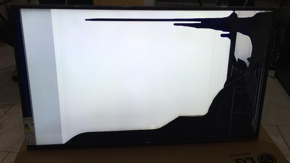 Tv LG 55 4k Com Display Danificado
