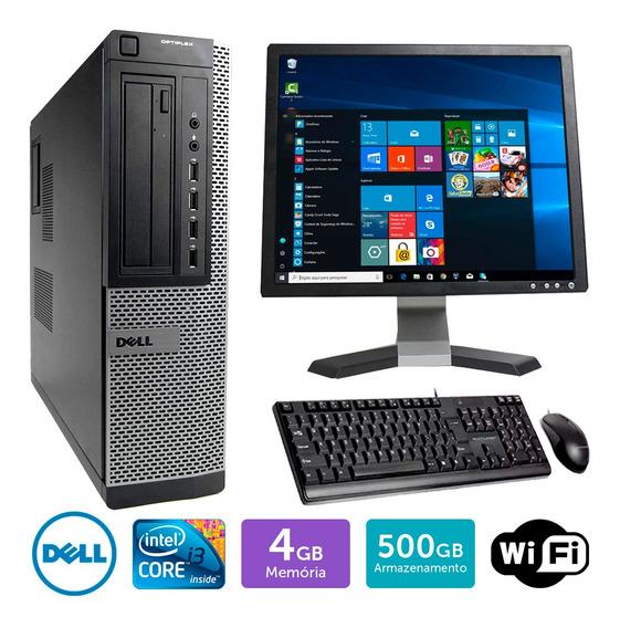 Desktop Usado Dell Optiplex 790int I3 4gb 500gb Mon17q