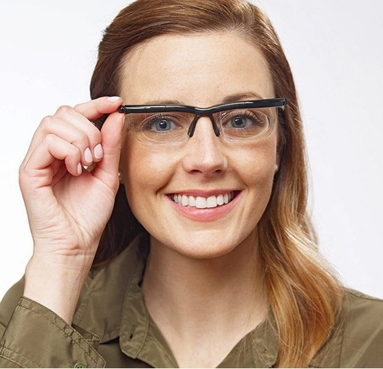 Óculos De Grau Lente Ajustável