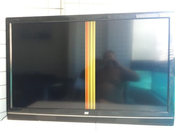 Tv 42 Aoc Com Defeito. Tela Inteira