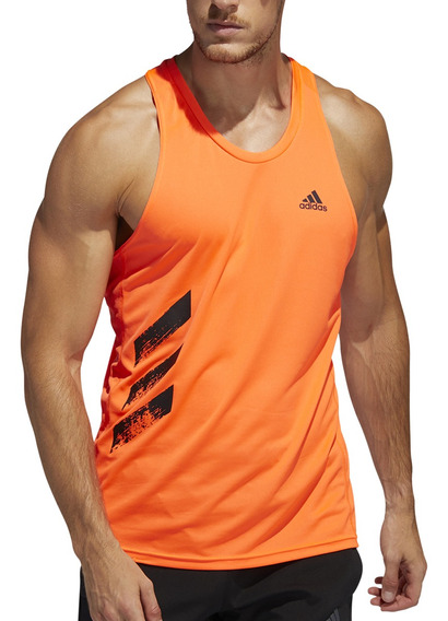 Musculosa adidas Running Own The Run 3s Hombre Nf/ng