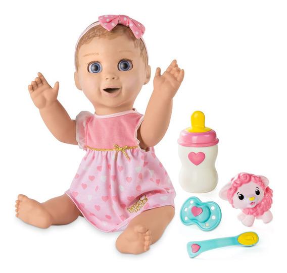Boneca Bebê - Luvabella - Com Expressões E Acessórios - Sunn
