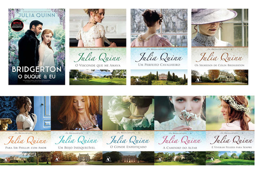 Os Bridgertons Coleção Completa 9 Livros - Duque E Eu