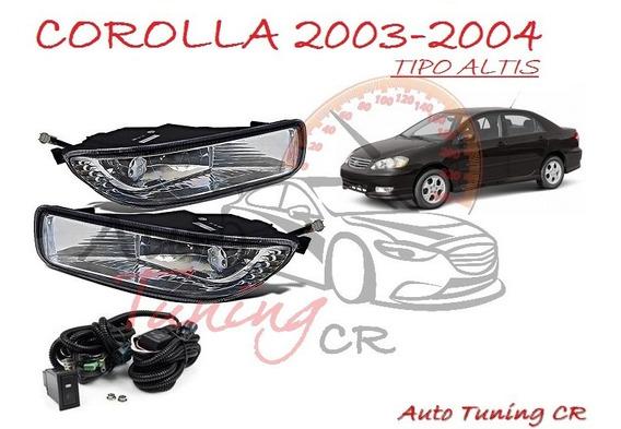 Halogenos Toyota Corolla Altis 2003-2004