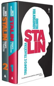 Stalin Caixa 2 Volumes Livro Capa Dura Dmitri Volkogonov