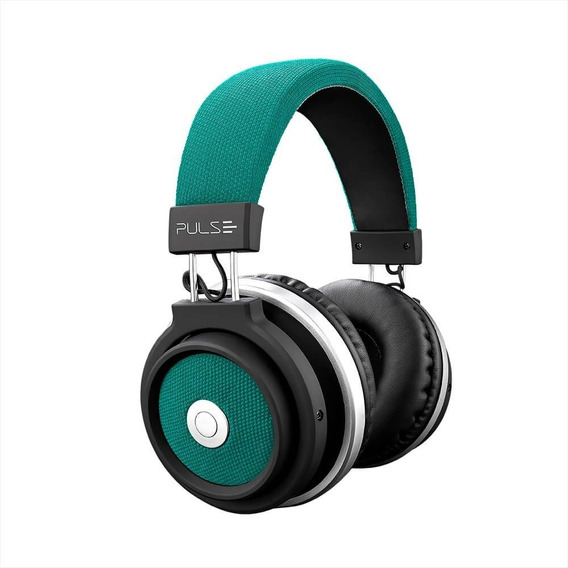 Fone De Ouvido Bluetooth Large Verde Pulse- Ph231