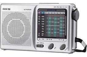 Radio Portátil Nks Mlano 10 Faixas
